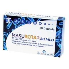 MASUROTA Probiotici 50 MLD 20 Capsule Vegetali