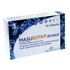 MASUROTA Probiotici 25 MLD 20 Capsule Vegetali