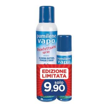 pumilene vapo disinfettante spray 250ml + 75ml omaggio