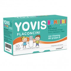 YOVIS Bambini Fragola 10 Flaconcini 10ml