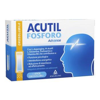 acutil fosforo advance 12 stick orosolubili