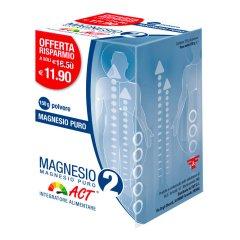 magnesio 2 act puro polv 150g