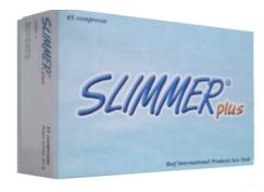 Baif Internat.products N.y.snc Slimmer Plus 45 Compresse