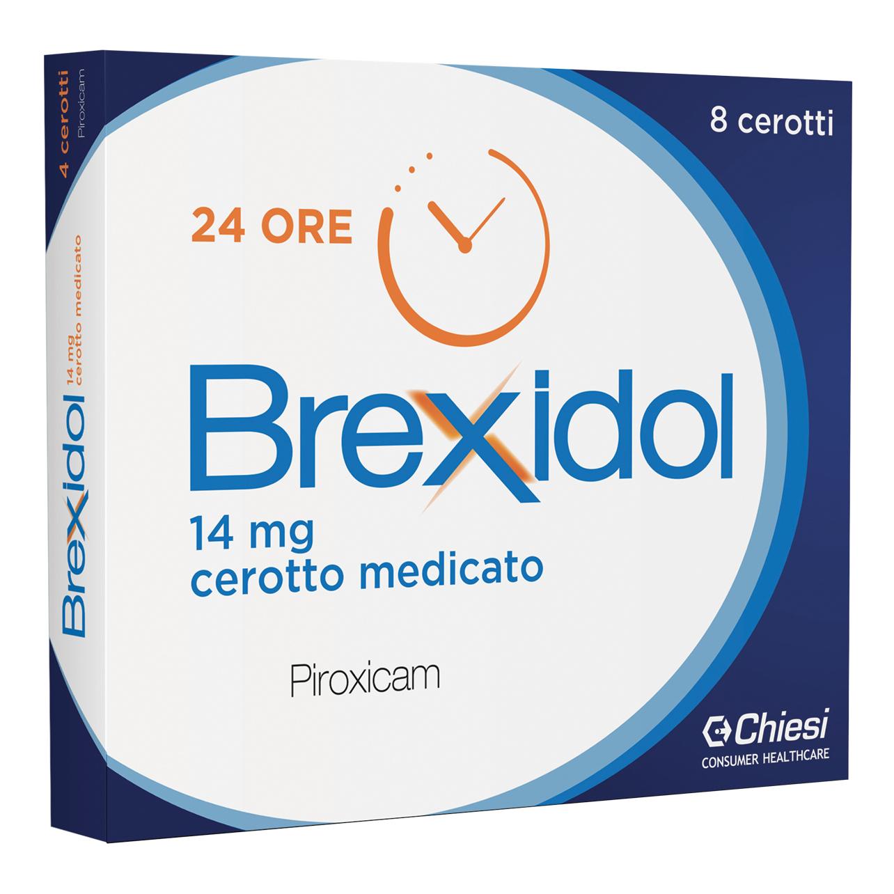 Brexidol 8 Cerotti Medicati 14mg