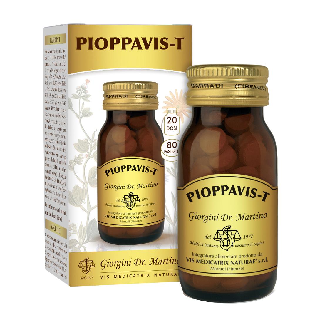 Dr. Giorgini Pioppavis T Integratore Drenante 80 Pastiglie