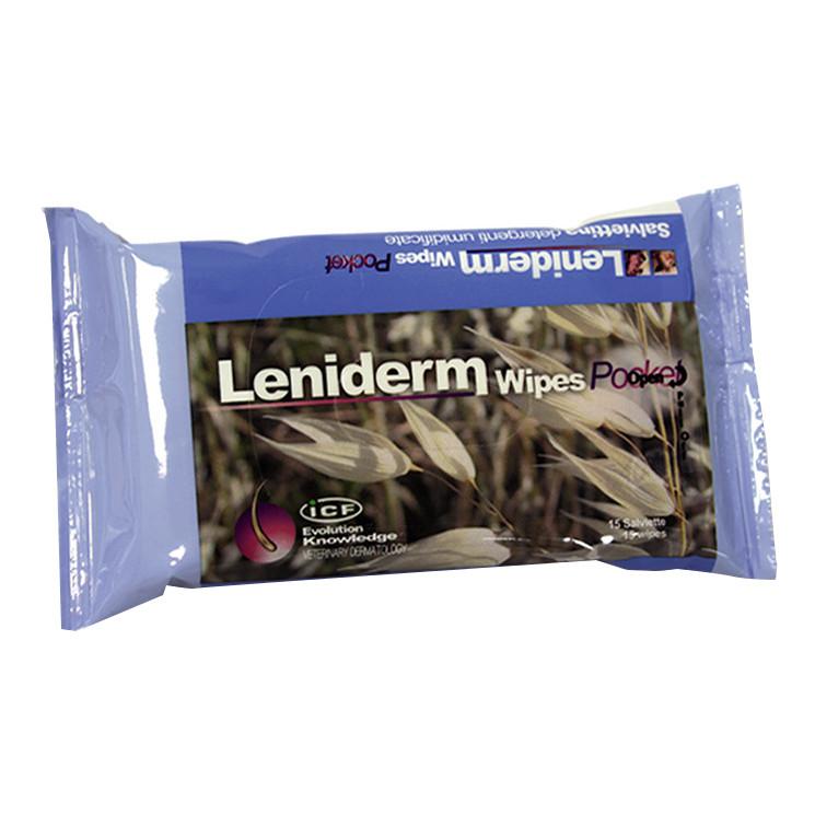 LENIDERM WIPES POCKET 15 STRAPPI