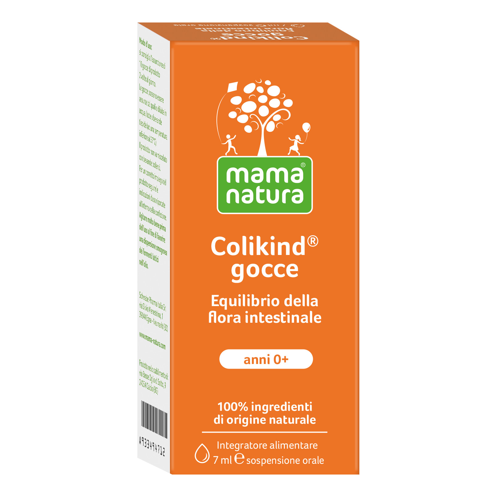 schwabe pharma italia srl colikind equilibrio flora intestinale gocce 7 ml